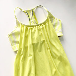 Lululemon No Limits Tank in Clarity Yellow